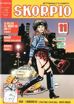Copertina SKORPIO ANNO 28 n.16 - SKORPIO 2004            16, EDITORIALE AUREA