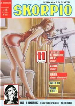 Copertina SKORPIO ANNO 28 n.18 - SKORPIO 2004            18, EDITORIALE AUREA