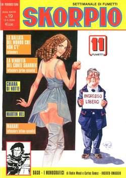 Copertina SKORPIO ANNO 28 n.19 - SKORPIO 2004            19, EDITORIALE AUREA