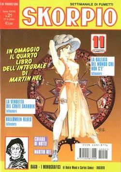 Copertina SKORPIO ANNO 28 n.21 - SKORPIO 2004            21, EDITORIALE AUREA