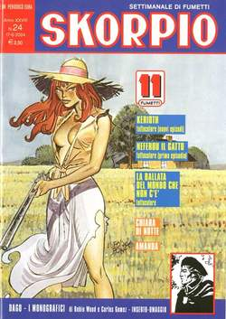 Copertina SKORPIO ANNO 28 n.24 - SKORPIO 2004            24, EDITORIALE AUREA