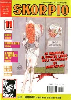 Copertina SKORPIO ANNO 28 n.25 - SKORPIO 2004            25, EDITORIALE AUREA