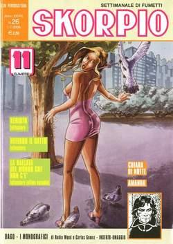 Copertina SKORPIO ANNO 28 n.26 - SKORPIO 2004            26, EDITORIALE AUREA