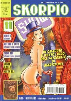 Copertina SKORPIO ANNO 28 n.27 - SKORPIO 2004            27, EDITORIALE AUREA