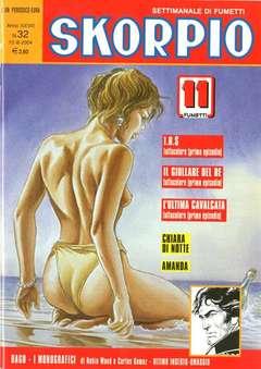 Copertina SKORPIO ANNO 28 n.32 - SKORPIO 2004            32, EDITORIALE AUREA