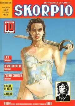 Copertina SKORPIO ANNO 28 n.34 - SKORPIO 2004            34, EDITORIALE AUREA
