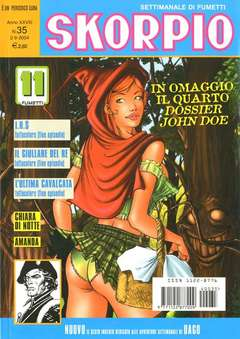 Copertina SKORPIO ANNO 28 n.35 - SKORPIO 2004            35, EDITORIALE AUREA