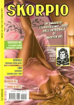 Copertina SKORPIO ANNO 28 n.40 - SKORPIO 2004            40, EDITORIALE AUREA