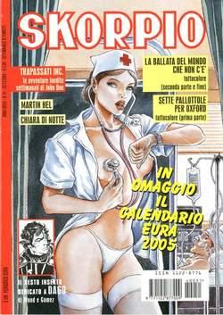 Copertina SKORPIO ANNO 28 n.51 - SKORPIO 2004            51, EDITORIALE AUREA