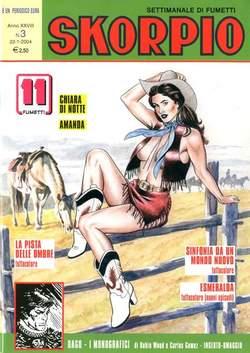 Copertina SKORPIO ANNO 28 n.3 - SKORPIO 2004             3, EDITORIALE AUREA