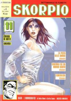 Copertina SKORPIO ANNO 28 n.4 - SKORPIO 2004             4, EDITORIALE AUREA
