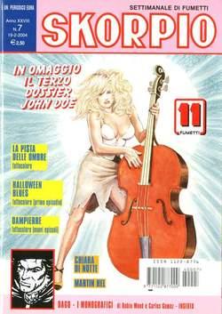 Copertina SKORPIO ANNO 28 n.7 - SKORPIO 2004             7, EDITORIALE AUREA
