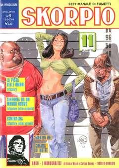 Copertina SKORPIO ANNO 28 n.6 - SKORPIO 2004             6, EDITORIALE AUREA