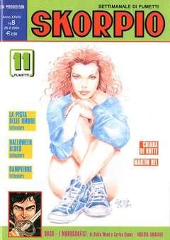 Copertina SKORPIO ANNO 28 n.8 - SKORPIO 2004             8, EDITORIALE AUREA