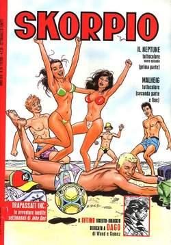 Copertina SKORPIO ANNO 29 n.34 - SKORPIO 2005            34, EDITORIALE AUREA