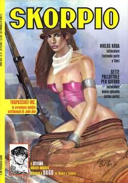 Copertina SKORPIO ANNO 29 n.41 - SKORPIO 2005            41, EDITORIALE AUREA
