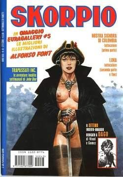 Copertina SKORPIO ANNO 29 n.43 - SKORPIO 2005            43, EDITORIALE AUREA