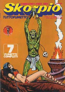 Copertina SKORPIO ANNO  3 n.10 - SKORPIO 1979            10, EDITORIALE AUREA