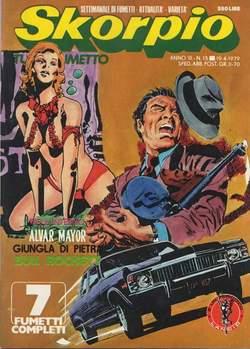 Copertina SKORPIO ANNO  3 n.15 - SKORPIO 1979            15, EDITORIALE AUREA