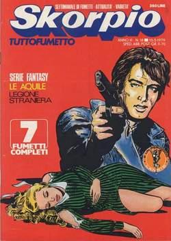 Copertina SKORPIO ANNO  3 n.18 - SKORPIO 1979            18, EDITORIALE AUREA