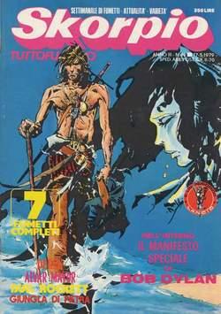Copertina SKORPIO ANNO  3 n.19 - SKORPIO 1979            19, EDITORIALE AUREA