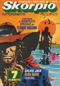 Copertina SKORPIO ANNO  3 n.23 - SKORPIO 1979            23, EDITORIALE AUREA