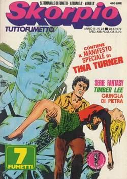 Copertina SKORPIO ANNO  3 n.25 - SKORPIO 1979            25, EDITORIALE AUREA