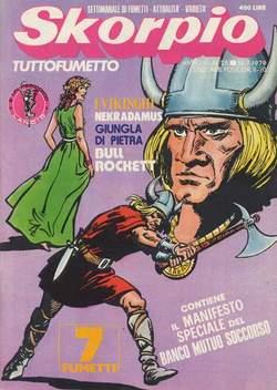 Copertina SKORPIO ANNO  3 n.28 - SKORPIO 1979            28, EDITORIALE AUREA