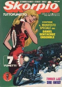 Copertina SKORPIO ANNO  3 n.33 - SKORPIO 1979            33, EDITORIALE AUREA