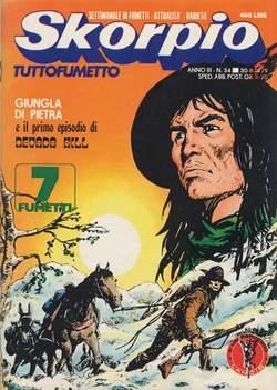 Copertina SKORPIO ANNO  3 n.34 - SKORPIO 1979            34, EDITORIALE AUREA