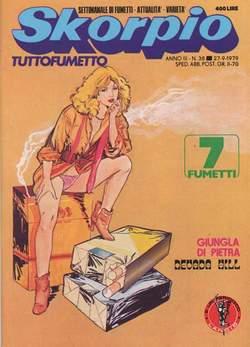 Copertina SKORPIO ANNO  3 n.38 - SKORPIO 1979            38, EDITORIALE AUREA