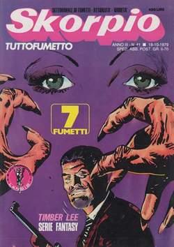 Copertina SKORPIO ANNO  3 n.41 - SKORPIO 1979            41, EDITORIALE AUREA