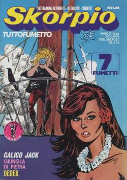 Copertina SKORPIO ANNO  3 n.42 - SKORPIO 1979            42, EDITORIALE AUREA