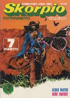 Copertina SKORPIO ANNO  3 n.43 - SKORPIO 1979            43, EDITORIALE AUREA
