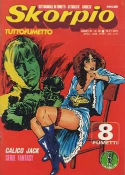 Copertina SKORPIO ANNO  3 n.45 - SKORPIO 1979            45, EDITORIALE AUREA