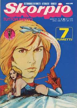 Copertina SKORPIO ANNO  3 n.46 - SKORPIO 1979            46, EDITORIALE AUREA