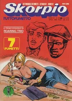 Copertina SKORPIO ANNO  3 n.48 - SKORPIO 1979            48, EDITORIALE AUREA