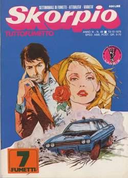 Copertina SKORPIO ANNO  3 n.49 - SKORPIO 1979            49, EDITORIALE AUREA