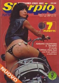Copertina SKORPIO ANNO  3 n.50 - SKORPIO 1979            50, EDITORIALE AUREA