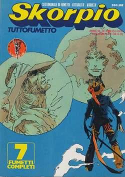 Copertina SKORPIO ANNO  3 n.3 - SKORPIO 1979             3, EDITORIALE AUREA