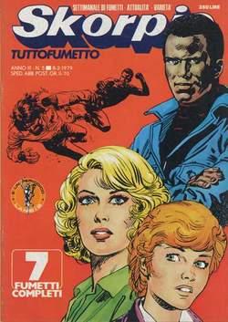 Copertina SKORPIO ANNO  3 n.5 - SKORPIO 1979             5, EDITORIALE AUREA