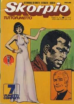 Copertina SKORPIO ANNO  3 n.1 - SKORPIO 1979             1, EDITORIALE AUREA