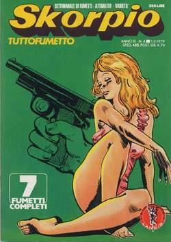 Copertina SKORPIO ANNO  3 n.4 - SKORPIO 1979             4, EDITORIALE AUREA