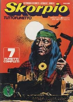 Copertina SKORPIO ANNO  3 n.6 - SKORPIO 1979             6, EDITORIALE AUREA