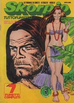 Copertina SKORPIO ANNO  3 n.7 - SKORPIO 1979             7, EDITORIALE AUREA