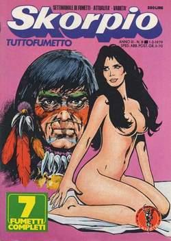 Copertina SKORPIO ANNO  3 n.8 - SKORPIO 1979             8, EDITORIALE AUREA