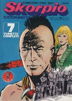 Copertina SKORPIO ANNO  3 n.2 - SKORPIO 1979             2, EDITORIALE AUREA
