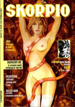 Copertina SKORPIO ANNO 30 n.15 - SKORPIO 2006            15, EDITORIALE AUREA