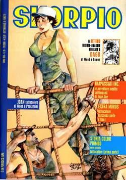 Copertina SKORPIO ANNO 30 n.35 - SKORPIO 2006            35, EDITORIALE AUREA