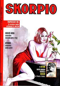 Copertina SKORPIO ANNO 30 n.2 - SKORPIO 2006             2, EDITORIALE AUREA